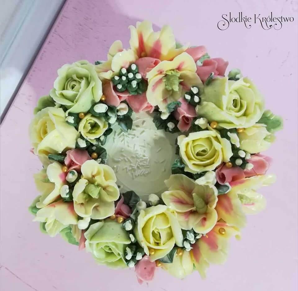 Szkolenie z zakresu tworzenia kwiatów maślanych